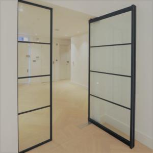 best website d4def e840a Steel Look Internal Screens and Doors | Mondrian® Glazing ...